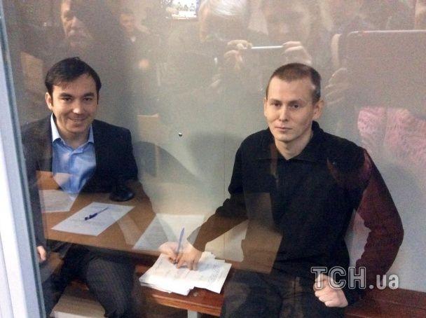 Евгений Ерофеев и Александр Александров в суде.