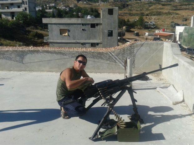 Российский солдат в Сирии, иллюстрация
