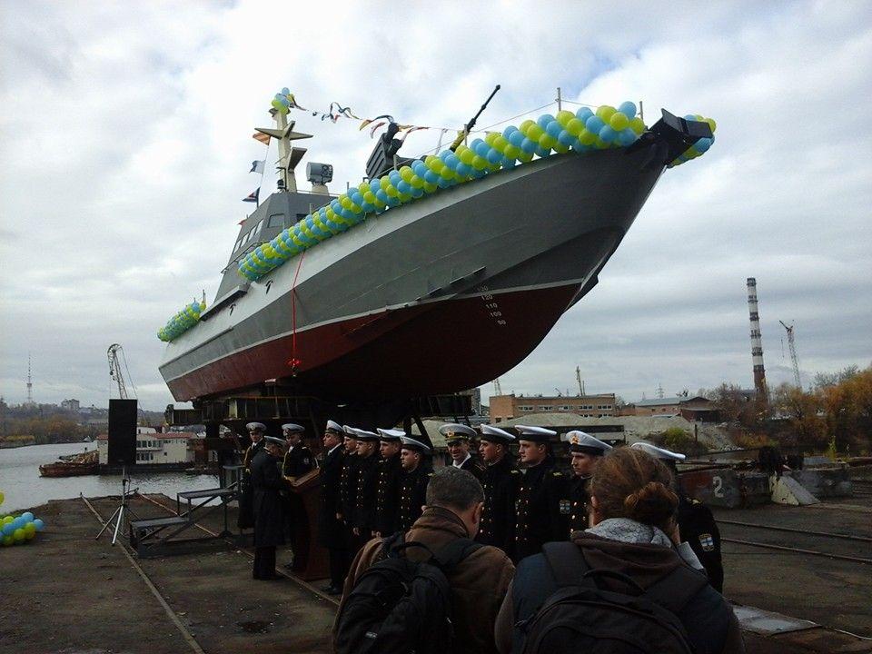 В Украине построят два десантных катера