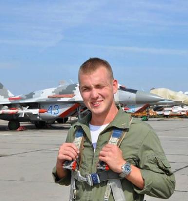 Погибший пилот Егор Большаков