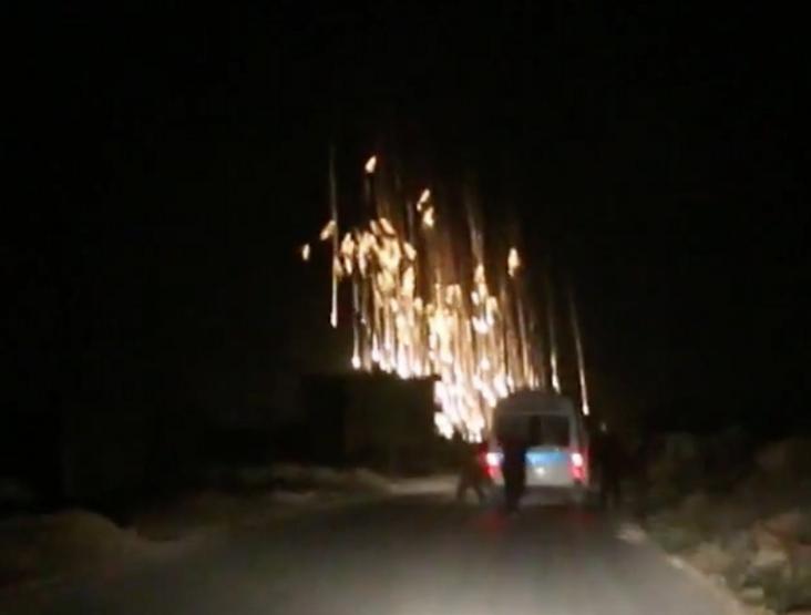 Последствия якобы применяния РФ в Сирии фосфорных боерпипасов