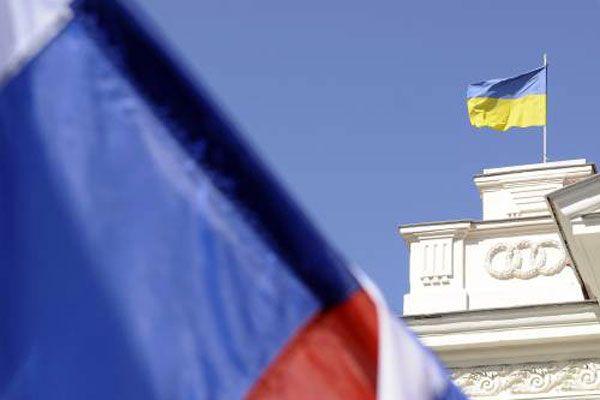 Украина, Россия, флаг