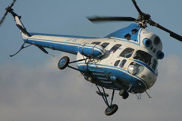 На Харьковщине потерпел катастрофу вертолет