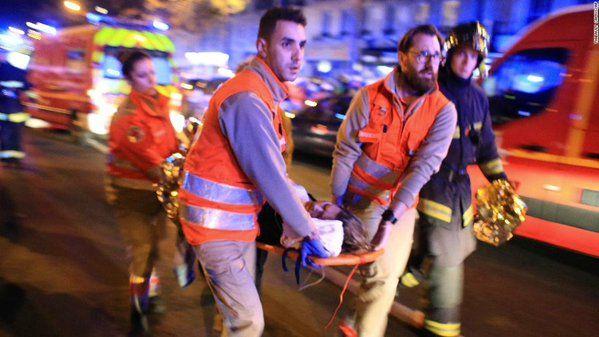 Теракт в Париже, иллюстрация