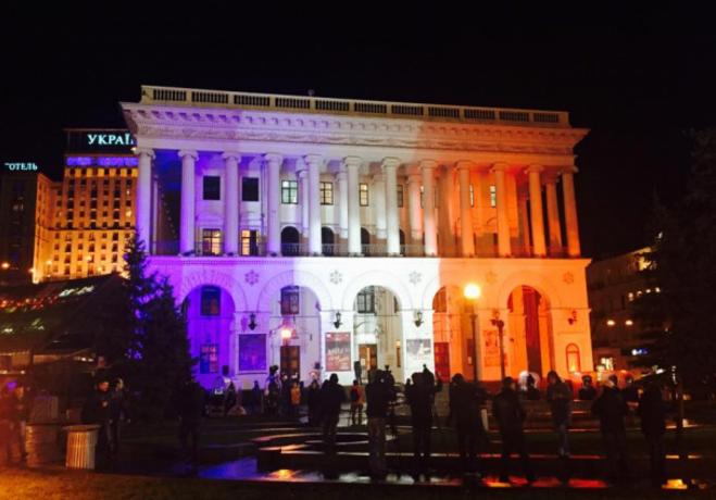 Здание Национальной музыкальной академии Украины им. П. Чайковского
