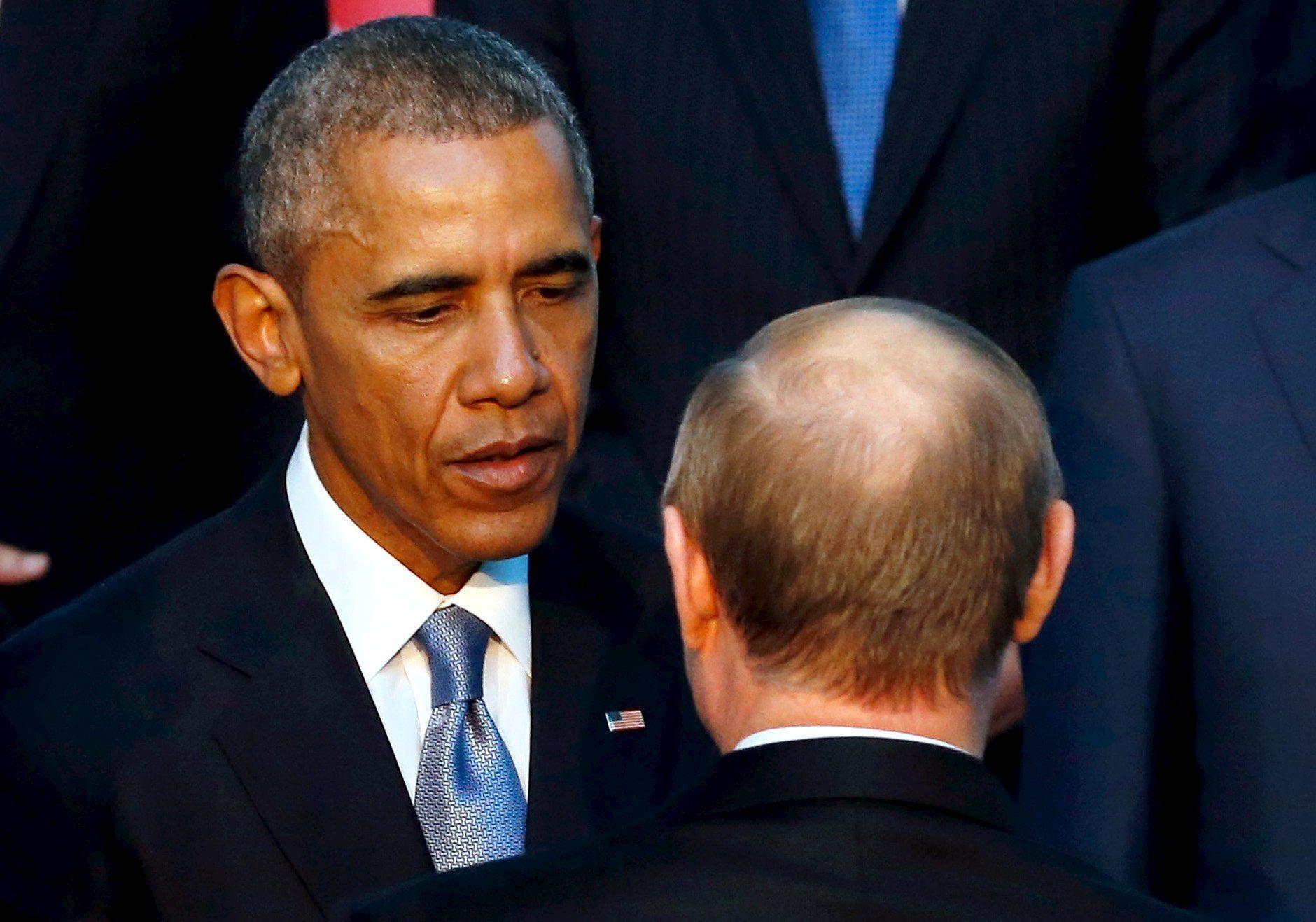 Обама, Путин, Турция