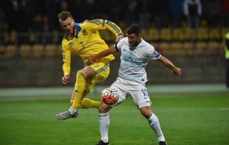 Андрей Ярмоленко в атаке
