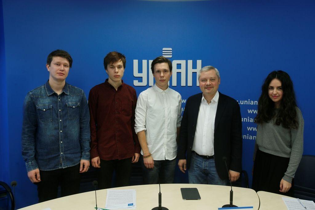 Игорь Янковский с молодыми режиссерами