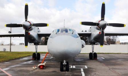 Отремонтированный Ан-32RE ВВС Индии