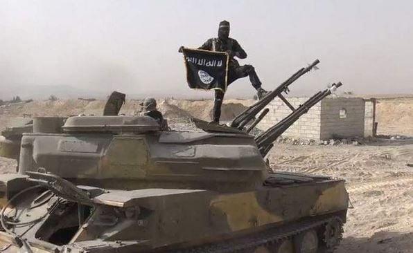 Исламисты ИГ, иллюстрация