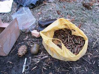 На Луганщине СБУ обнаружила схрон