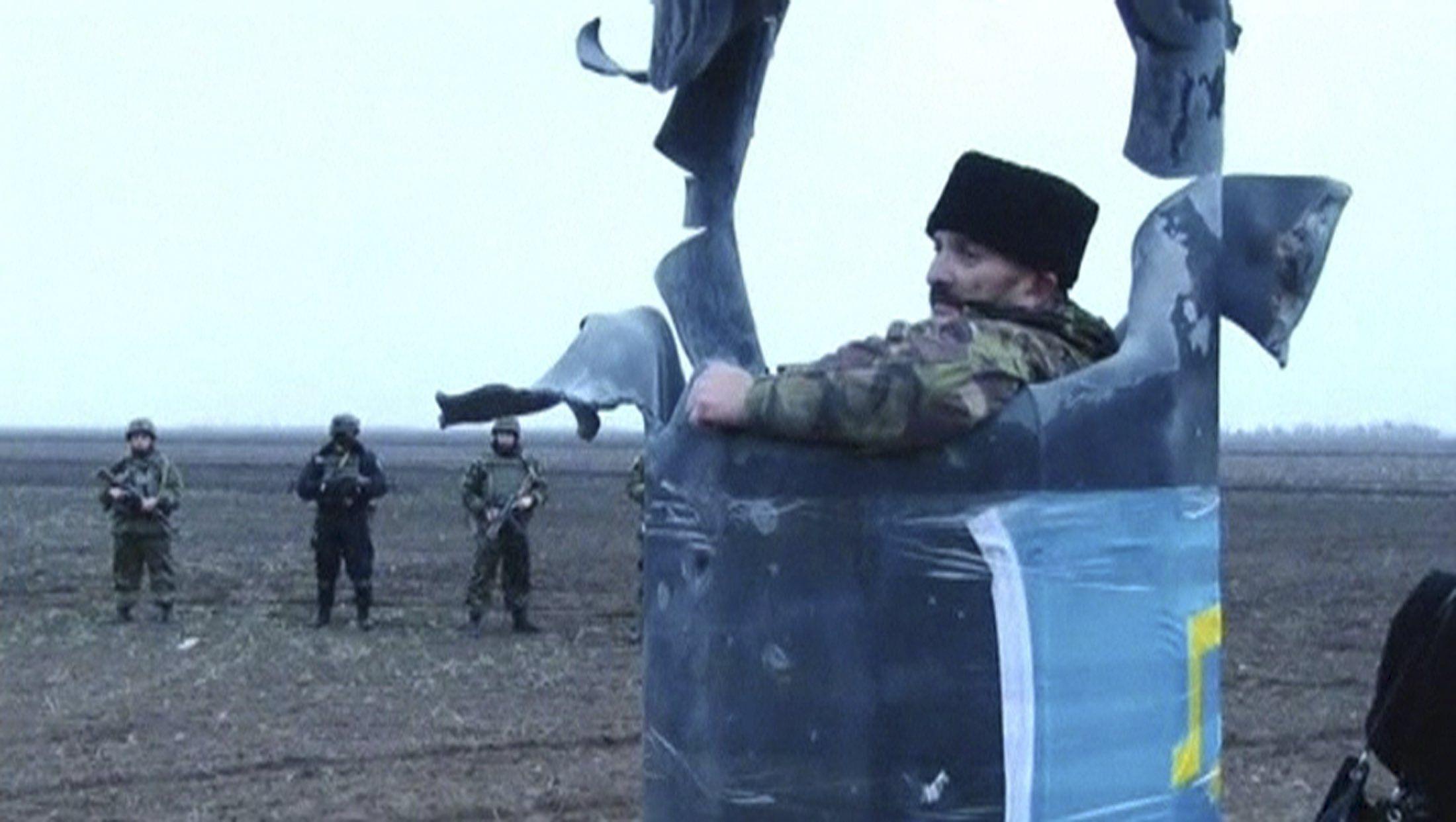 Блокада Крыма, иллюстрация