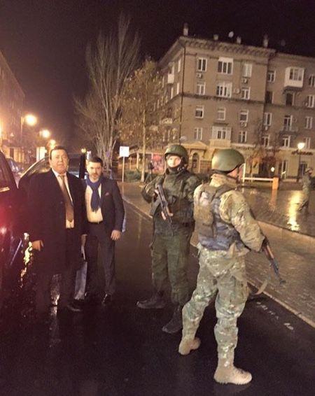 Иосиф Кобзон в ДНР