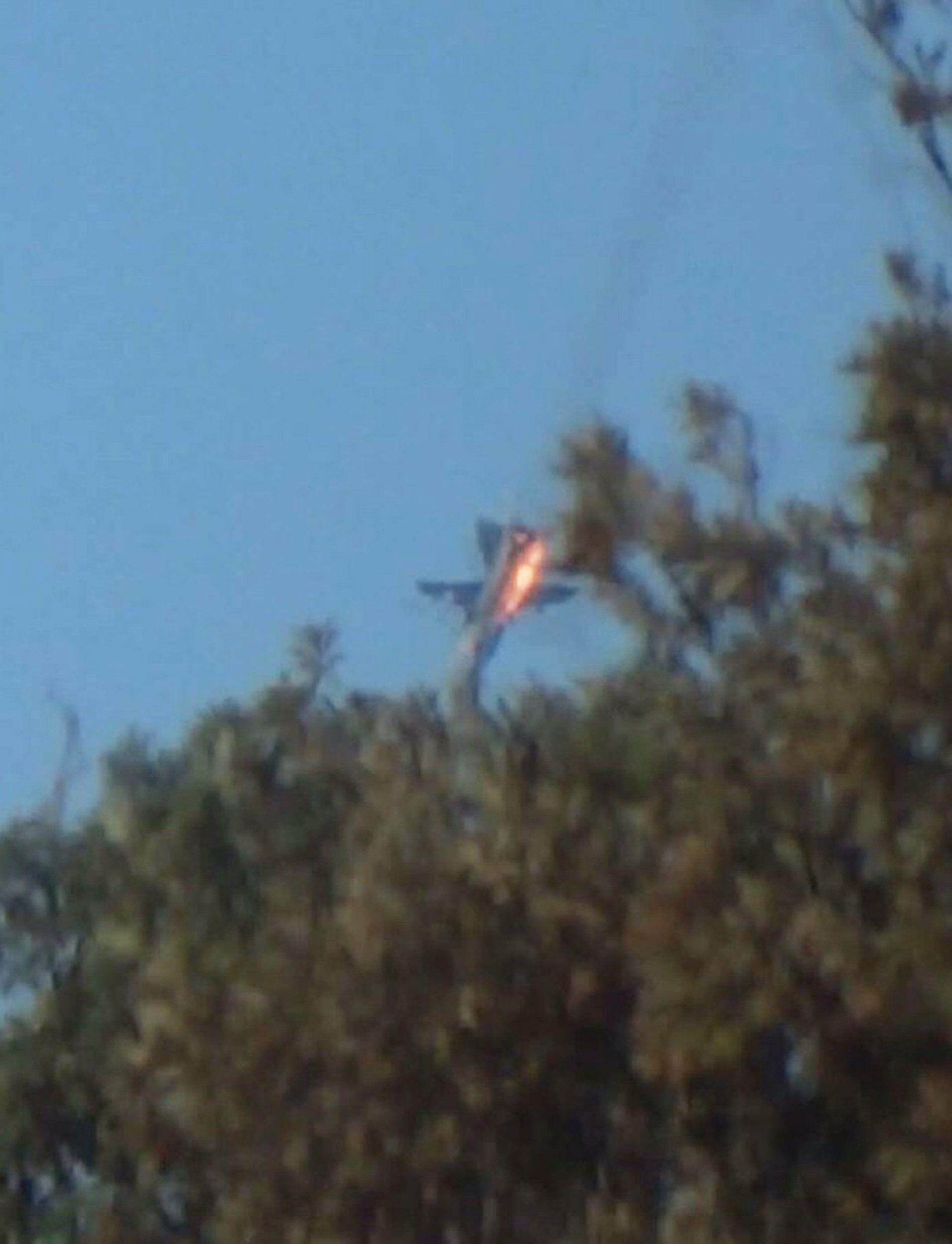 Сбитый Су-24 на границе Турции и Сирии