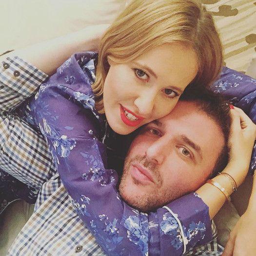 Ксения Собчак и Максим Виторган сообщили, что довольно давно не живут вместе