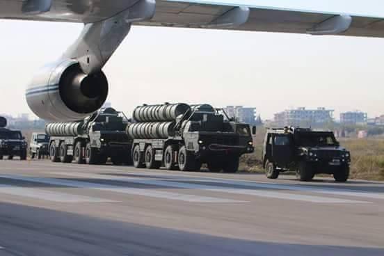Российские С-400 выгружаются в Сирии