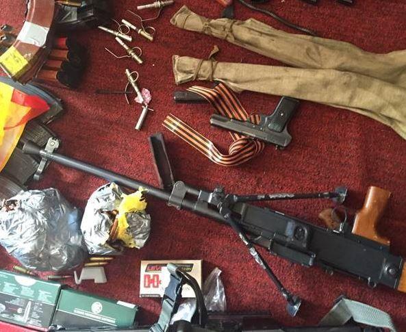 Под Киевом местный житель хотел продать ПТУР, огнеметы и гранаты