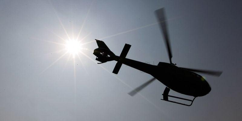 Вертолет, иллюстрация