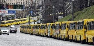 В Киеве собираются запустить ночные маршрутки