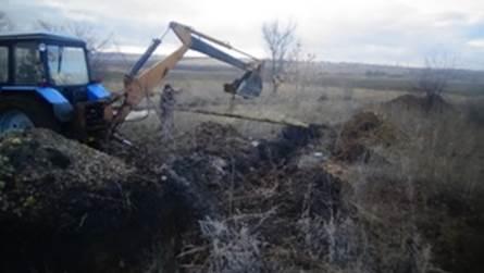 На Луганщине накрыли подпольный трубопровод