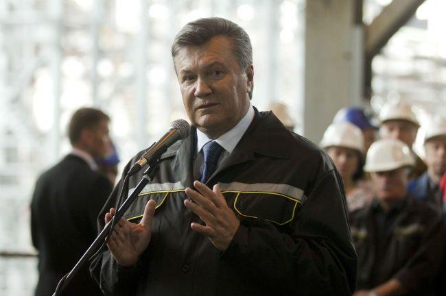 2012 год. Виктор Янукович на