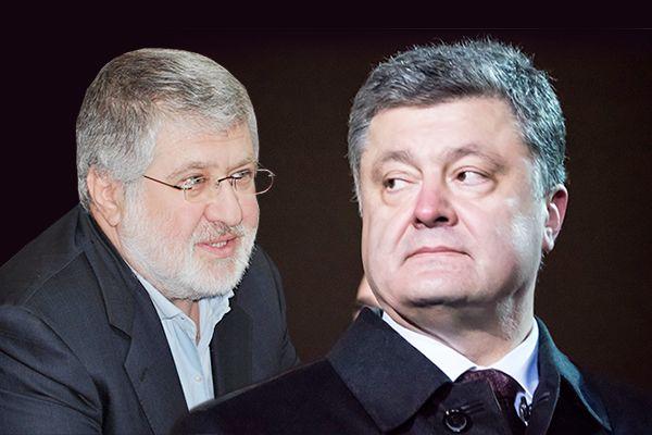 Игорь Коломойский сказал, что его отношения с президентом испортила война
