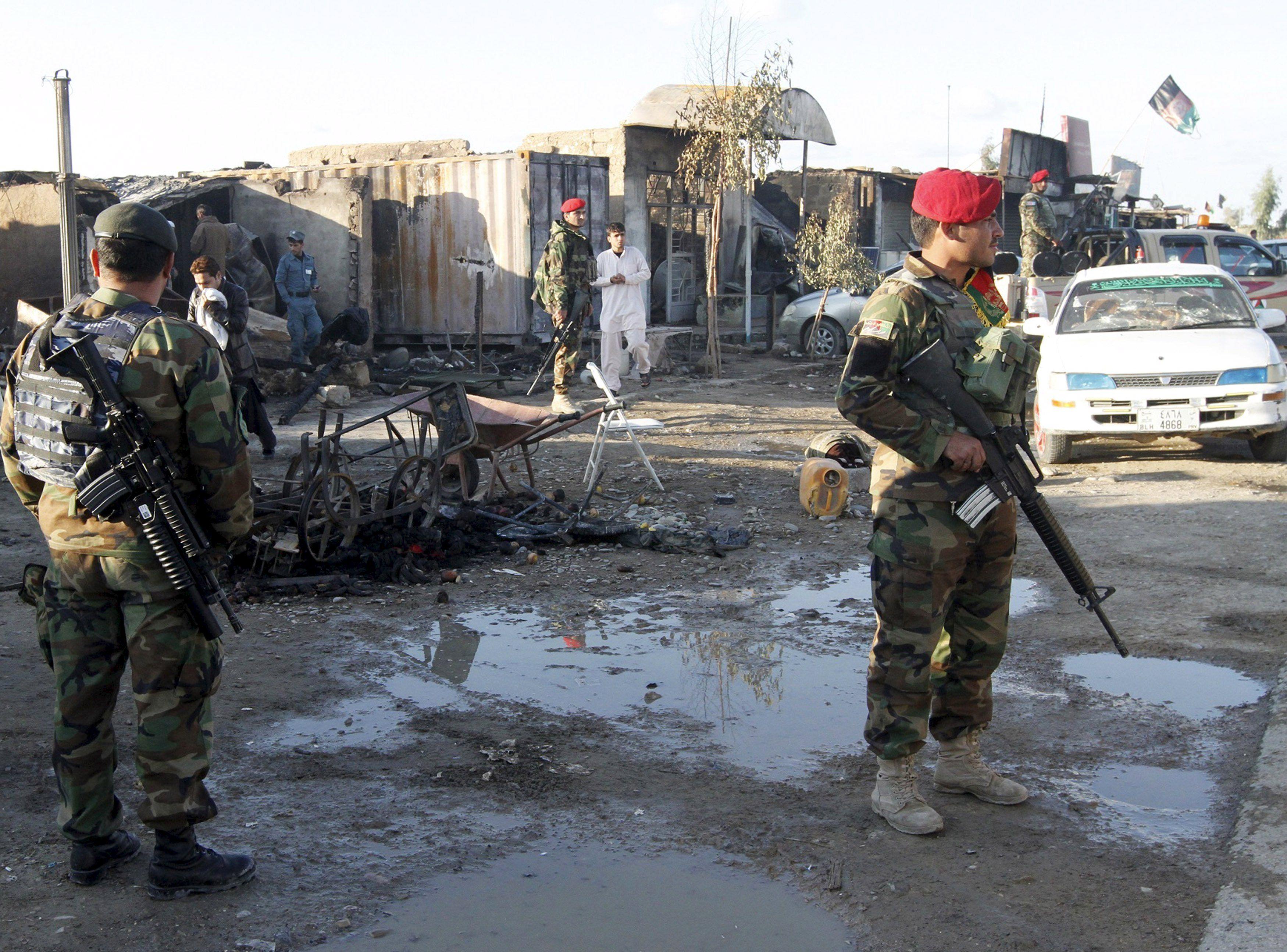 Афганские спецслужбы, иллюстрация