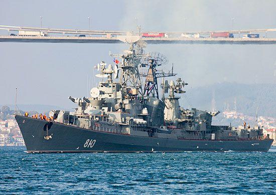 Сторожевой корабль РФ обстрелял турецкий сейнер