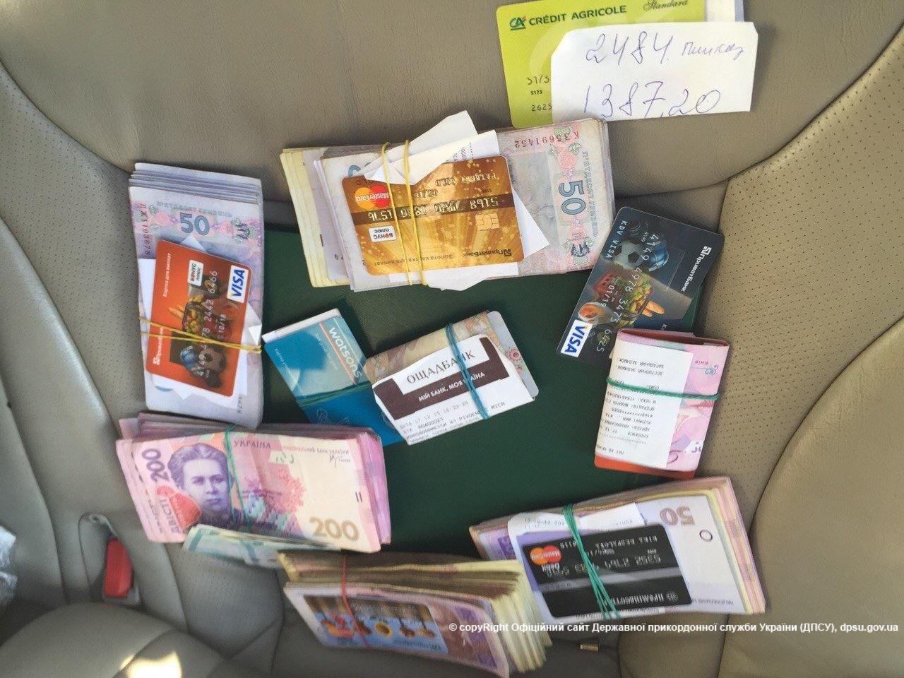 Под Донецком пограничники задержали контрабандиста
