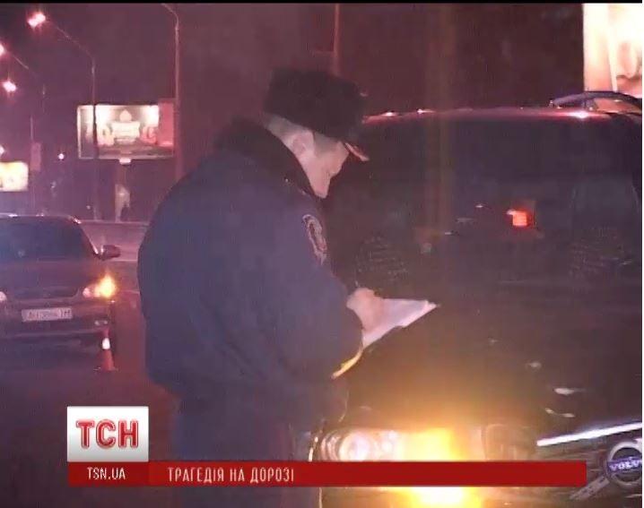 ДТП с участием внедорожника Volvo экс-мэра Киева Александра Омельченко
