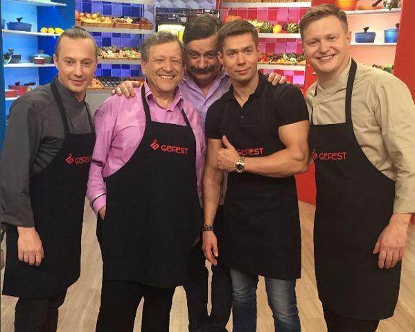 Борис Грачевский и Стас Пьехва