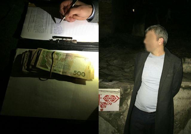 В Киеве погорел на взятке сотрудник Нацполиции