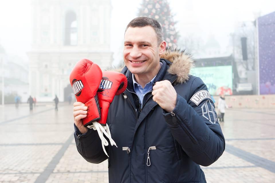 Виталий Кличко присоединился к благотворительному марафону.