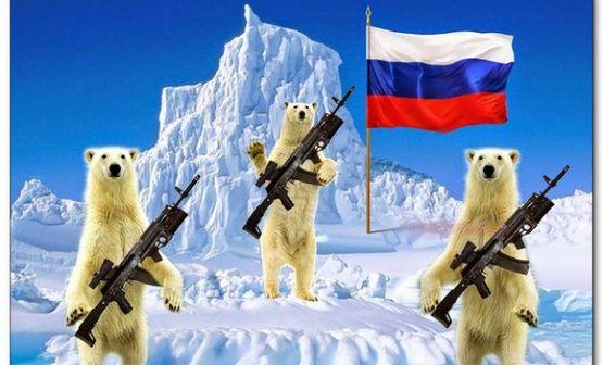 Россия, Арктика, русский мир