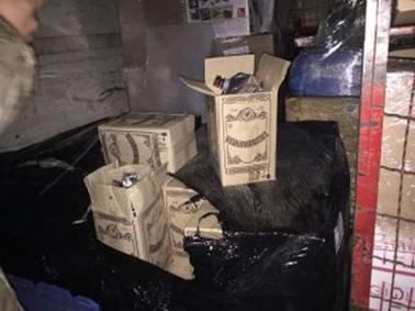 Боевиков оставили без водк