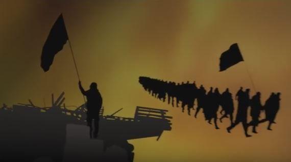 Кадр из клипа группы
