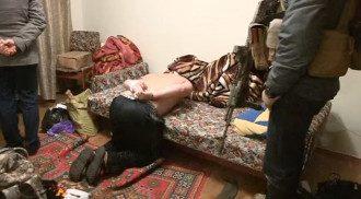 Задержание диверсантов в Киеве.