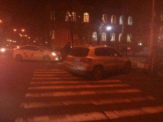 Луценк нарушил правила дорожного движения.