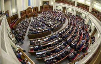 Парламент решил ввести в Украине военное положение