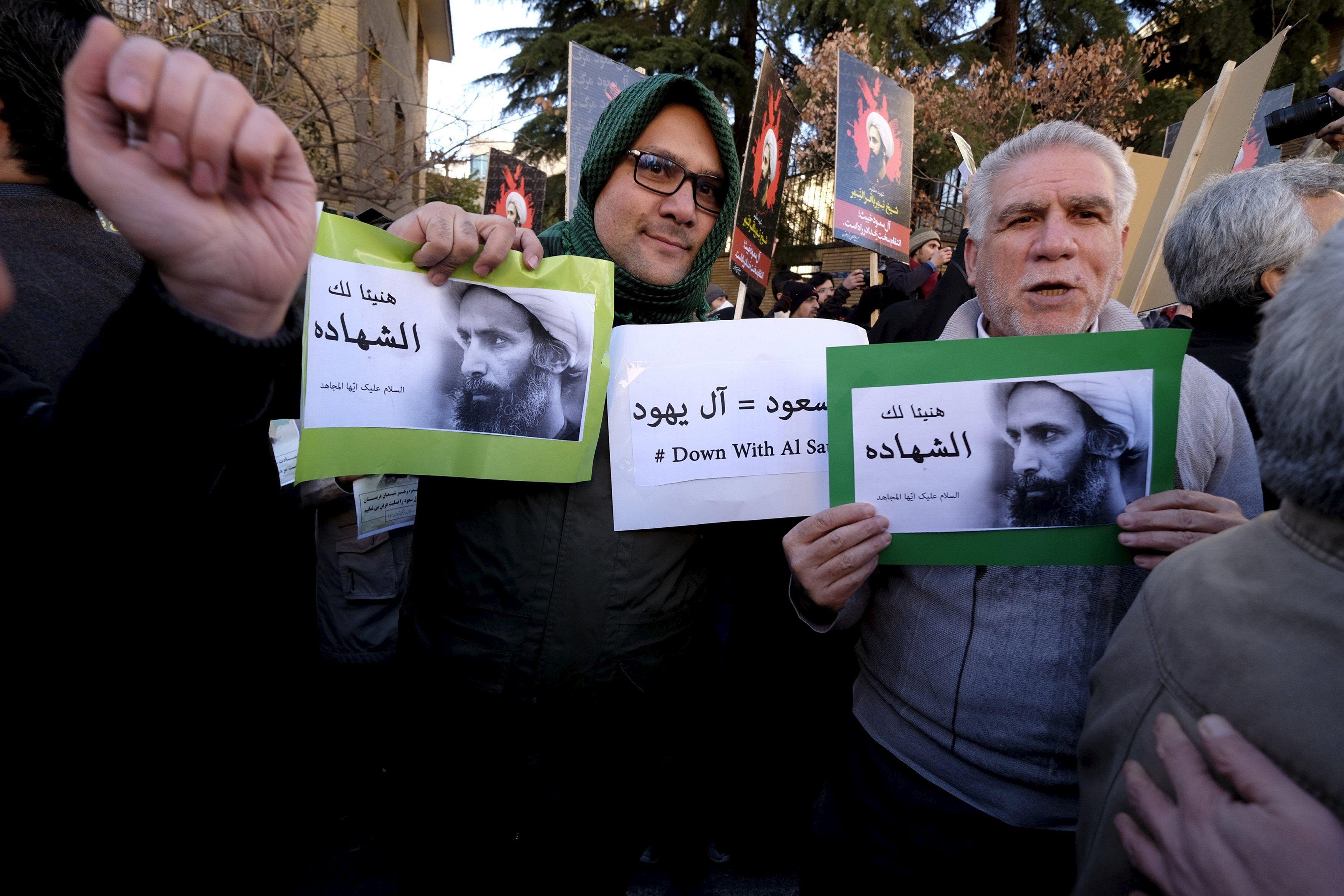 Протесты в Иране, илююстрация