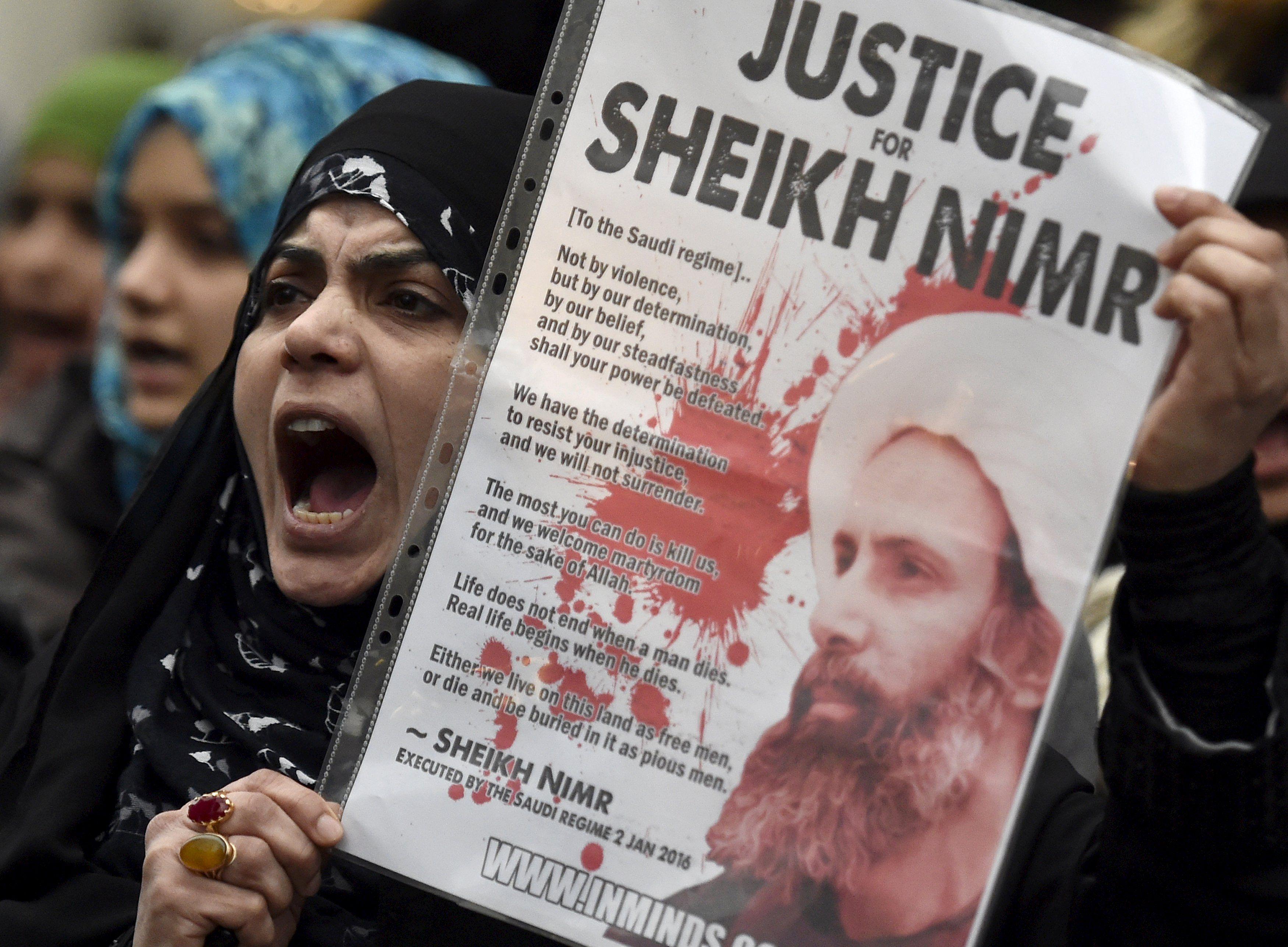 Протесты в Саудовской Аравии