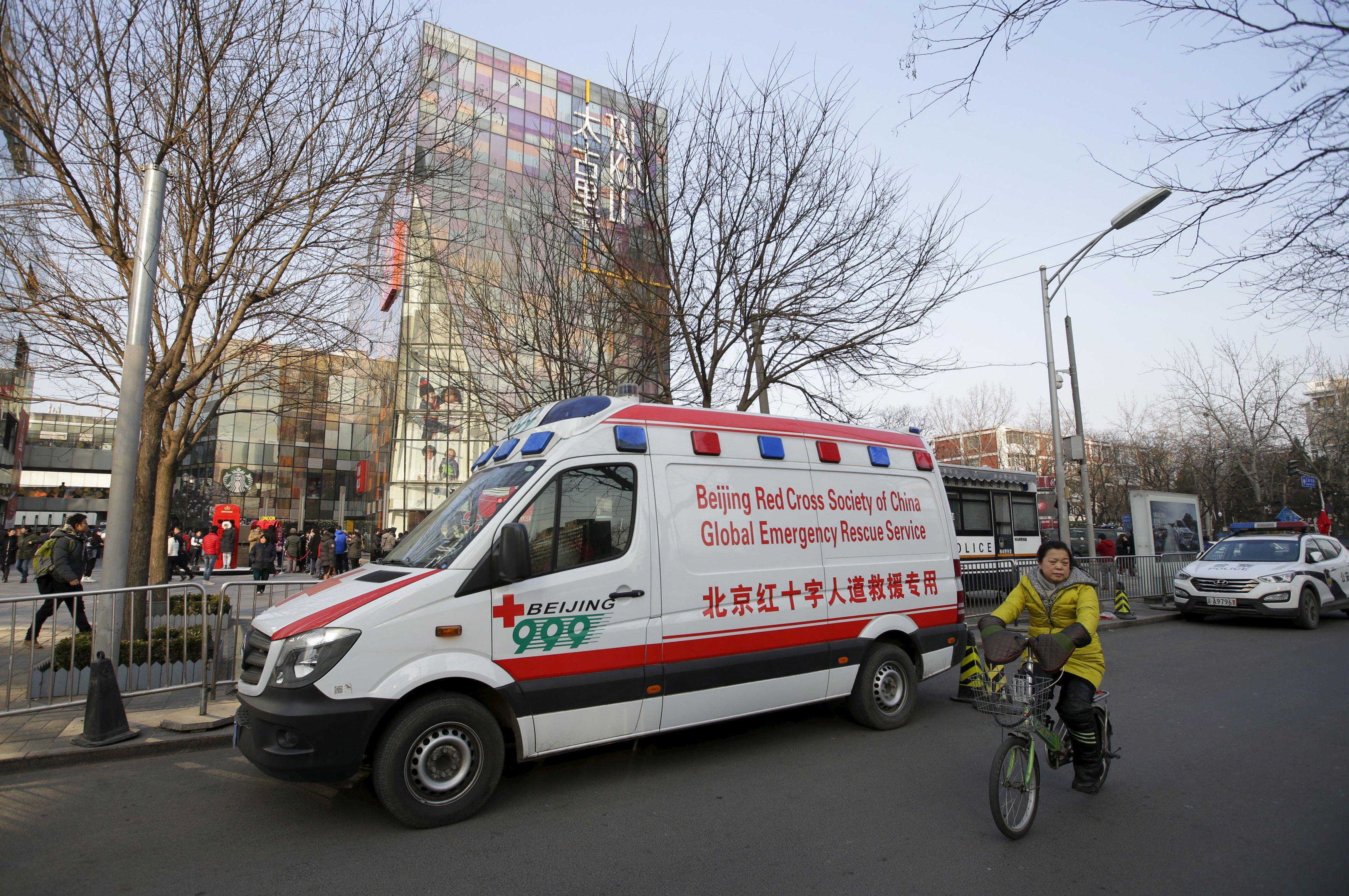 Скорая помощь в Китае, иллюстрация