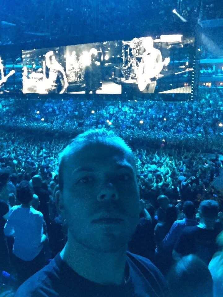 Никита Рубченко. Во время концерта в Германии