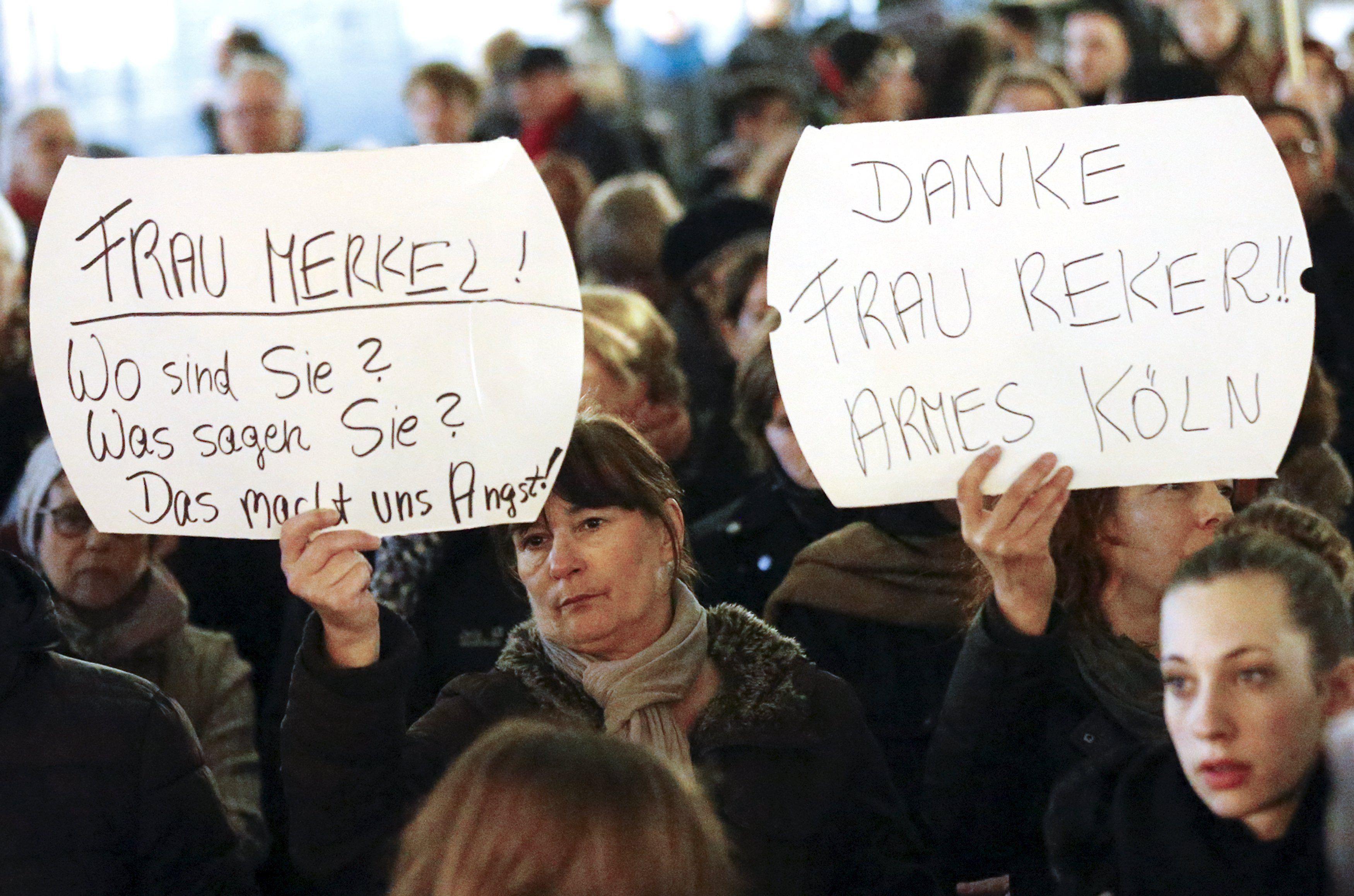 В Европе массовые нападения на женщин