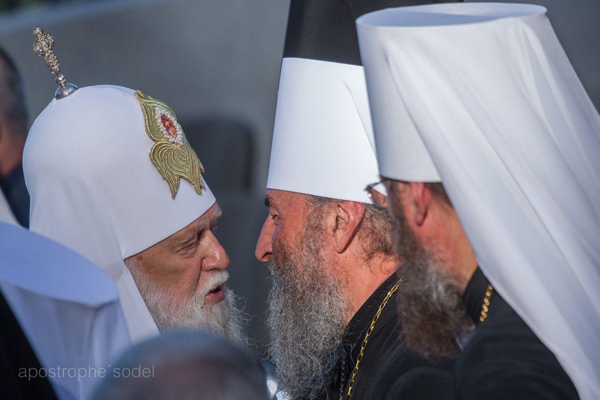 УПЦ (КП) и УПЦ (МП) обменялись взаимными упреками
