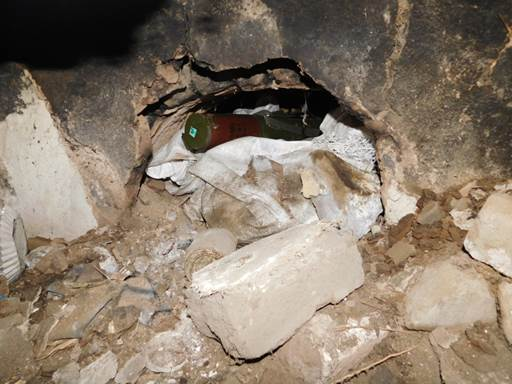 Под Марьинкой накрыли схрон