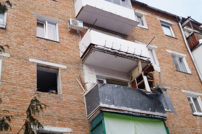 В Одессе в пятиэтажном доме прогремел взрыв