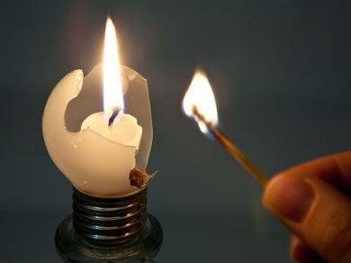 Свеча, иллюстрация
