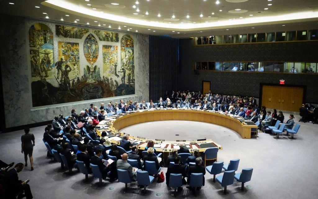Заседание СБ ООН.