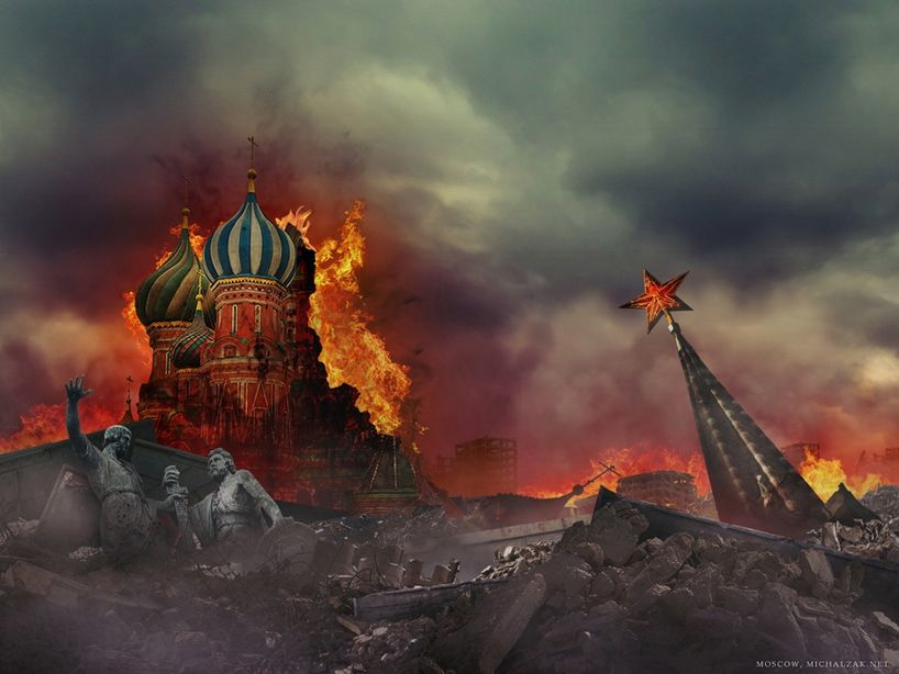 Москва, фантазии на тему